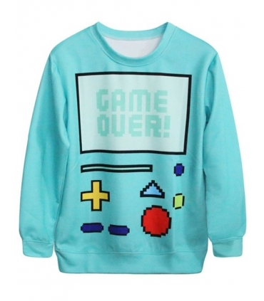 Bluza casual Game Over  - 1