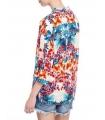 Bluza lejera cu imprimeu floral