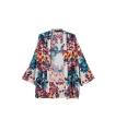 Bluza lejera cu imprimeu floral  - 2