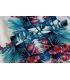 Bluza lejera cu imprimeu floral  - 5