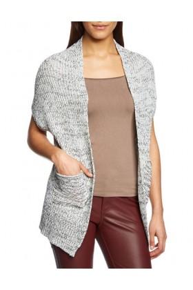 Cardigan cu maneca scurta tricotat  - 1