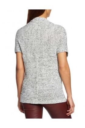 Cardigan cu maneca scurta tricotat  - 2