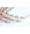 Colier elegant cu flori  - 2