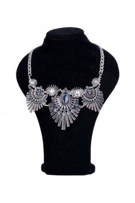 Colier argintiu elegant  - 1