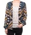 Bomber jacket cu imprimeu colorat