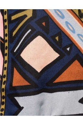 Bomber jacket cu imprimeu colorat  - 3