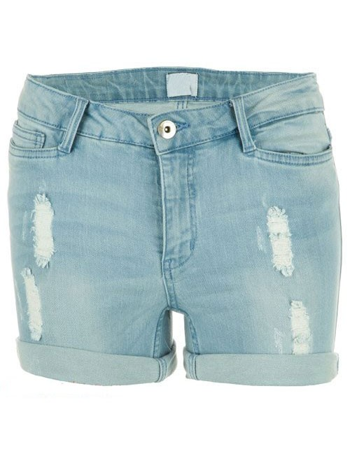 Pantaloni scurt de blug albastru