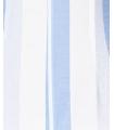 Salopeta alba cu dungi albastre si bretele Parisian - 7