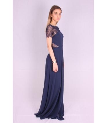 Rochie de seara lunga albastra  - 2