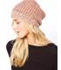 Caciula tricotata roz  - 3