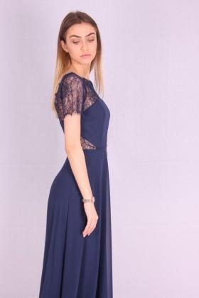 Rochie de seara lejera albastra  - 2