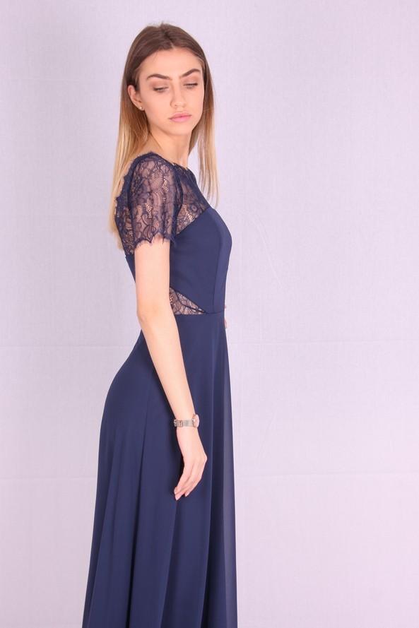 Rochie de seara lejera albastra
