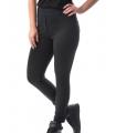 Colanti stil pantalon culoare neagra  - 3