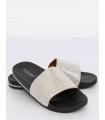 Papuci negri cu aplicatii stralucitoare  - 2