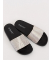 Papuci negri cu aplicatii stralucitoare  - 4