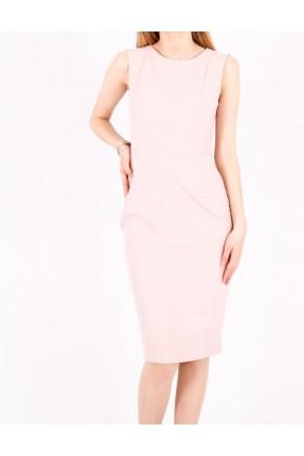 Rochie office roz deschis  - 1