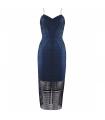Rochie albastra de seara Lucia  - 6