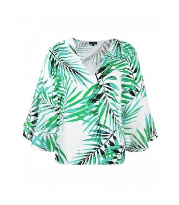 Bluza cu frunze imprimate Raspberry - 6