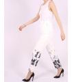 Pantaloni cu imprimeu floral Raspberry - 4