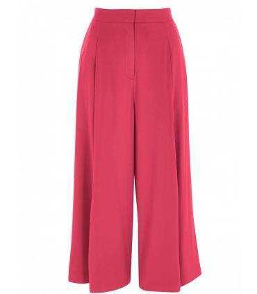 Pantaloni roz evazati  - 6