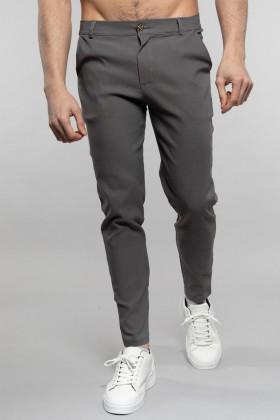 Pantaloni chino gri Frilivin - 1