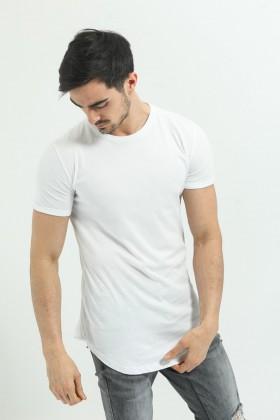 Tricou alb clasic  - 1