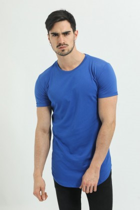 Tricou albastru, clasic Frilivin - 1