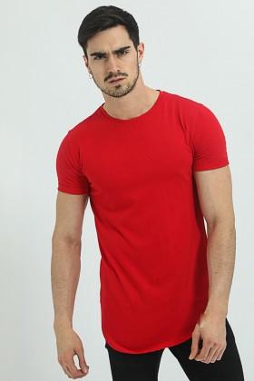 Tricou rosu, clasic Frilivin - 1