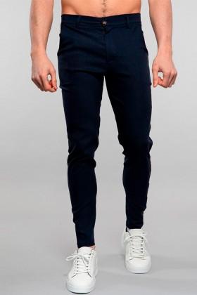 Pantaloni chino bleumarin Frilivin - 1