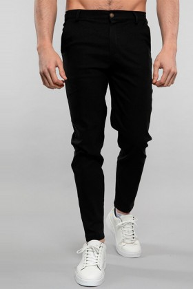 Pantaloni chino negri Frilivin - 1