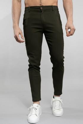 Pantaloni chino kaki Frilivin - 1