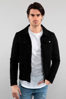 Jacheta de blug neagra Frilivin - 1