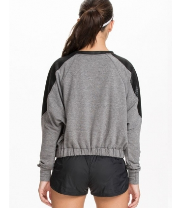 Bluza sport gri cu negru  - 2