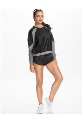 Bluza sport gri cu negru  - 3