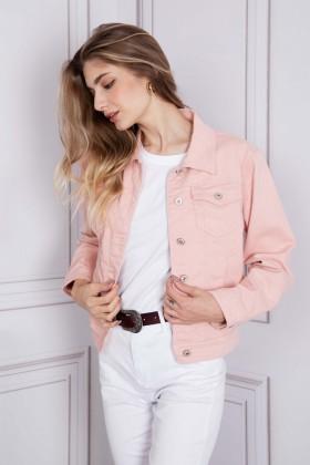 Jacheta roz deschis din denim SARAH JOHN - 1