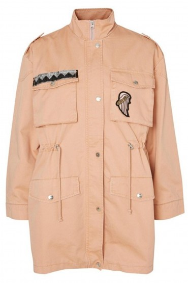 Jacheta lunga roz de primavara  - 4